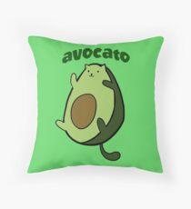 Avocat Throw Pillow