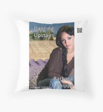 Dancing Upstairs by Barbara Phipps Throw Pillow