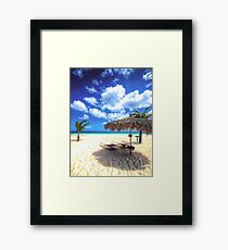 You're Invited to Aruba! Framed Print