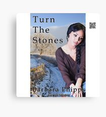 Turn The Stones by Barbara Phipps Canvas Print