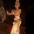 Classical Dancer, Siem Reap, Cambodia by Bev Pascoe
