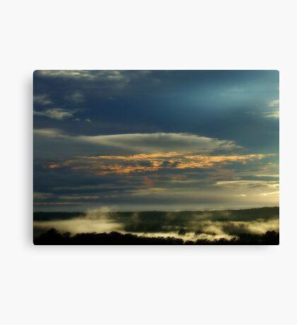 """Morning Blues"" Canvas Print"