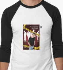 Accidental Mobster by M.M. Cox Men's Baseball ¾ T-Shirt