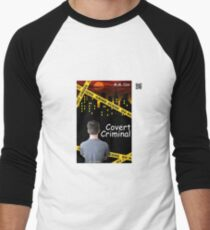 Covert Criminal by M.M. Cox Men's Baseball ¾ T-Shirt