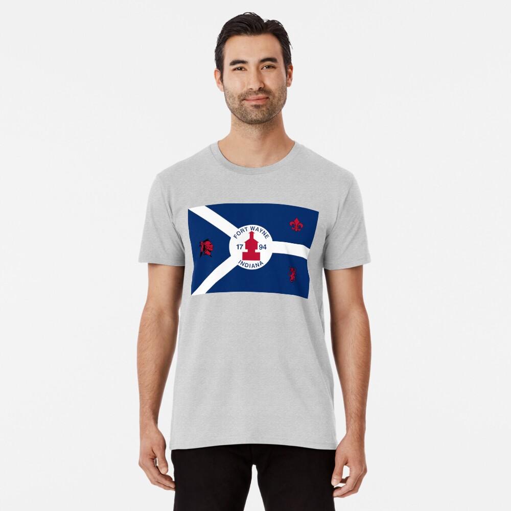 Flag of Fort Wayne, Indiana Premium T-Shirt