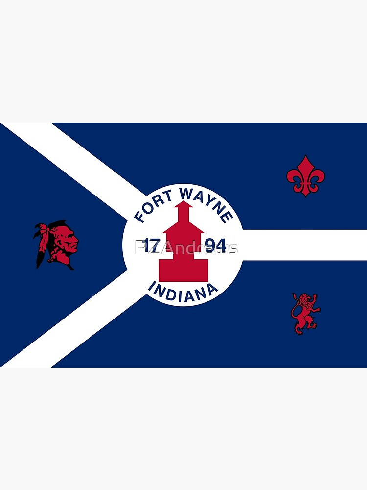 Flag of Fort Wayne, Indiana by PZAndrews
