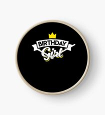 Lustiges Geburtstags-Mädchen-Party-Kleid Uhr