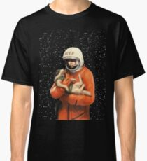 LAIKA / GAGARIN - SOVIET SPACE HEROES Classic T-Shirt