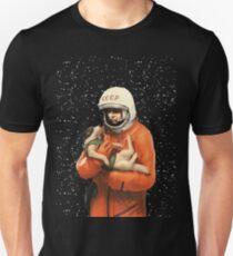LAIKA / GAGARIN - SOVIET SPACE HEROES Unisex T-Shirt
