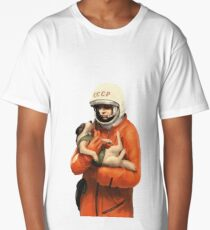 LAIKA / GAGARIN - SOVIET SPACE HEROES Long T-Shirt
