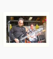 Paul Vanzella rocks out! Art Print