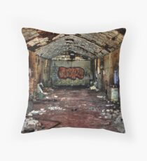 bulli brickworks in ruins Throw Pillow