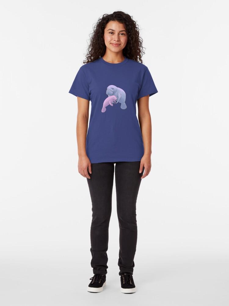 Vista alternativa de Camiseta clásica Manatee Jamboree