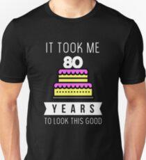 d8ce97bb3 80th Birthday Design & Illustration T-Shirts | Redbubble