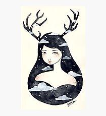 Antlers Photographic Print