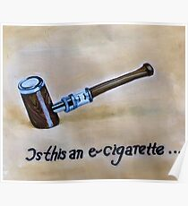 Is this an e-cigarrette? Poster