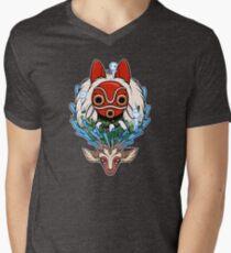 Princesse Mononoke T-shirt col V