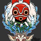 « Princesse Mononoke » par ChubbyKirin