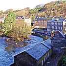 New Lanark, Falls of the Clyde, Scotland, World Heritage Site by FollowingTLites