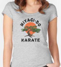 MIYAGI-DO - KARATE KID Women's Fitted Scoop T-Shirt
