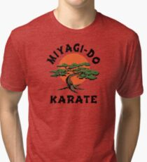 MIYAGI-DO - KARATE KID Tri-blend T-Shirt