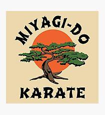 MIYAGI-DO - KARATE KID Photographic Print