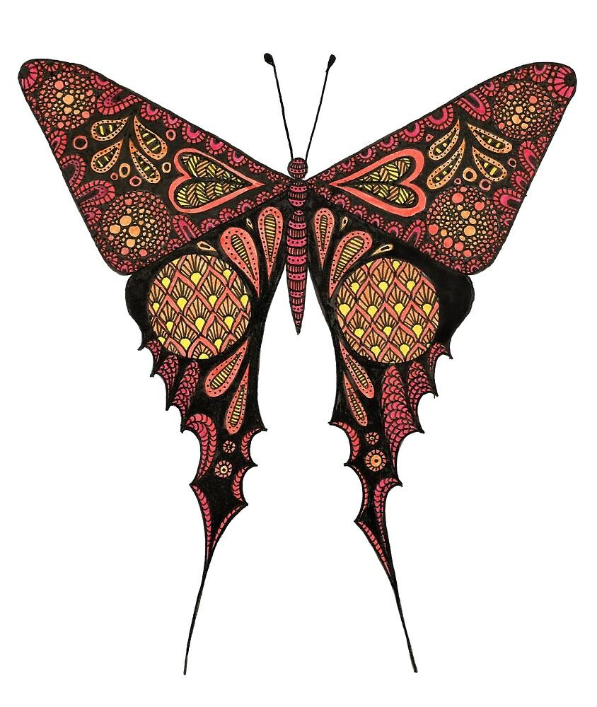 Bohemian Butterfly by KatieMaryMac
