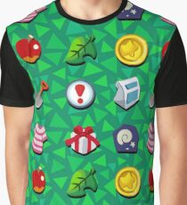 Animal Crossing- Full Pockets Graphic T-Shirt