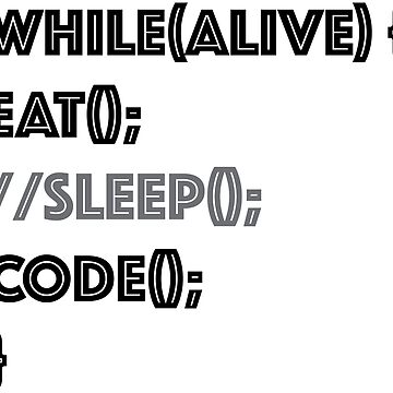 Eat, Sleep and Code - Programming Challenges to Code Better by baylovin