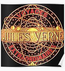 Jules Verne Voyages Extraordinaires  Poster