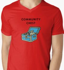 Community Chest Men's V-Neck T-Shirt
