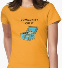 Community Chest Women's Fitted T-Shirt