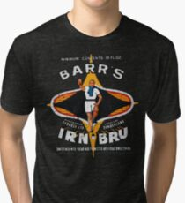 Vintage Irn-Bru Artwork Tri-blend T-Shirt