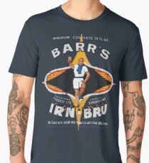 Vintage Irn-Bru Artwork Men's Premium T-Shirt