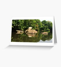 Lobé River Reflections Greeting Card