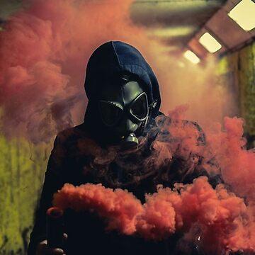MASK OF SMOKE by Angieml