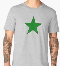 Green Esperanto Star Men's Premium T-Shirt