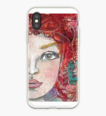 Monoprint Feminine Attitudenal iPhone Case