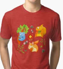 Woodland Fun Tri-blend T-Shirt