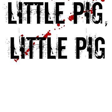 little pig, little pig - negan by Richray