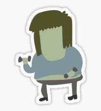 Muscle Man | Regular Show Sticker