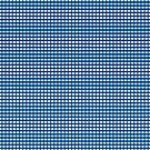 Navy Blue Gingham Checked Pattern by Artist4God