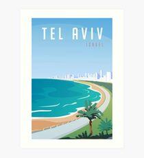 Weinlese Tel Aviv Israel Travel Kunstdruck
