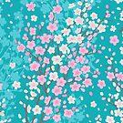Spring sakura by olgart