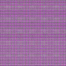 Purple Gingham Checked Pattern by Artist4God