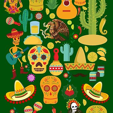 Fiesta Time! Mexican Icons by Gravityx9