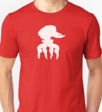 Scrab (white) Unisex T-Shirt