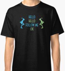 Oddworld Abe's Oddysee Hello (Blue & Green) Classic T-Shirt