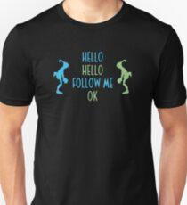 Oddworld Abe's Oddysee Hello (Blue & Green) T-Shirt