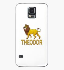 Theodor Lion Drawstring Bags Case/Skin for Samsung Galaxy
